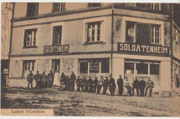 CPA 54 LABRY Près Conflans Carte Allemande Feldpost Café Soldatenheim Militaires - Ohne Zuordnung