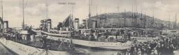 3-3462- Licata - Il Porto - Cartolina Doppia - ,movimentata - F.p. Non Viaggiata - Agrigento