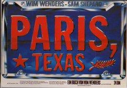 Cp France Paris (75) PARIS TEXAS WIM WENDERS SAM SHEPARD - France