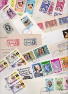 �LE DOMINIQUE - COMMONWEALTH OF DOMINICA - Beau lot vari� de 35 Enveloppes et Cartes Premier Jour - FDC 1937/2000