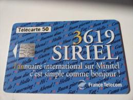 RARE :  COULEUR SUR 3619 SIRIEL - Variëteiten