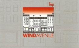 *ITALIA - WIND: WIND AVENUE TOP* -  Tessera Di Adesione A Programma - Italia