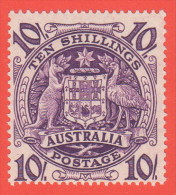 AUS SC #219 MNH  1949-50 Arms Of Australia CV $29.00 - 1937-52 George VI