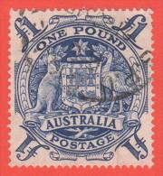 AUS SC #220  1949-50 Arms Of Australia CV $8.50 - 1937-52 George VI