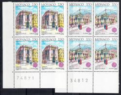 MONACO  1990. EUROPA-CEPT. BLOQUE DE 4   NUEVO SIN CHARNELA .SES GRANDE Nº 17 - Europa-CEPT