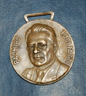 Medaglia A Ricordo Di Palmiro Togliatti Leader Partito Comunista Italiano - Altri