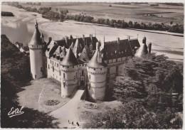 CHAUMONT SUR LOIRE,vue D´avion,ve Aérienne,vue Sur Le Chateau,prés De Blois,rare,photo Estel Lavelle