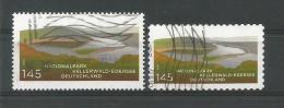 BRD 2011  Mi.Nr. 2841 + 2863 , Nationalpark Kellerwald-Edersee - Gestempelt / Used / (o) - BRD