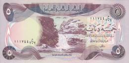 IRAQ 5 DINARS 1980 P-70 AU-UNC */*