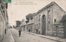 CPA Villers Cotterets - Maison Et Rue Alexandre Dumas Père - Villers Cotterets