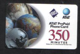 UNITED STATES - AT&T PHONECARD  ( SAM'S CLUB 350 PHONECARD )  USED 2000 - United States