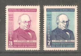 serie n� 334/5  republica dominicana
