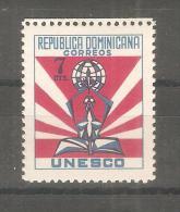 Sello Nº 503  Republica Dominicana - UNESCO