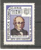 sello n� A-345  republica dominicana