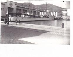 bateau batiment militaire contre torpilleur La palme a port vendres 1938 compagnie navigation