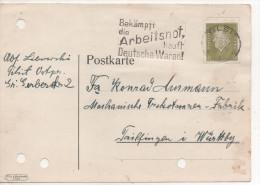 Nr. 2367 ,  Firmenpost 1933,  Tilsit  In Ostpreußen  Nach Tailfingen - Deutschland