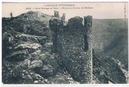 07 - LAMASTRE - RUINES DU CHATEAU DE MORDANE -  ARTIGE N°6043 - Lamastre