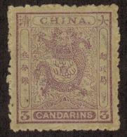 3660. China #11 1885 MLH NG - Cina