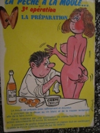 Carte Postale Humoristique Illustrateur ALEXANDRE Série Pêche à La Moule 810/3 Editions LYNA - Alexandre