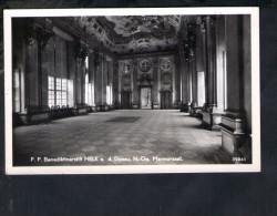 F2381 P.P. Benediktinerstift Melk A. D. Donau (Wachau) - Marmorsaal - Echte Fotografie  - Old Small Card - Melk