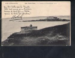 F2385 Saint-Malo - Le Tombeau De Chateaubriand - Cote D´ Emeraude - France, Francia - Old Small Card - Saint Malo