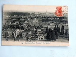 carte postale ancienne : JURANCON : Vue g�n�rale , en 1911