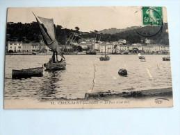Carte Postale Ancienne : CREUX SAINT-GEORGES : Le Port , Coté Est - Francia