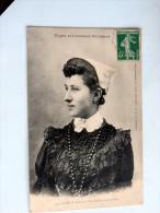 Carte Postale Ancienne : Coiffe Du POIRE-SUR-VIE, AIZENAY Et Environs - Poiré-sur-Vie