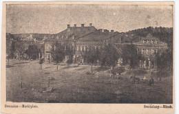 Lithuania Lituanie Lietuva, Swenzian Swenziany Marktplatz 1916 sent to  Germany
