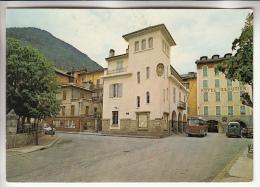 SAINT ETIENNE DE TINEE 06 - Hotel ISSAUTIER Bus Estafette Pharmacie ...  Jolie CPSM CPM GF - Alpes Maritimes - Saint-Etienne-de-Tinée