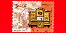 ISRAELE -  ISRAEL - 2004 - USATO - Cassetta Della Posta - Mailboxes - Poste Austriache - 2.10 - Israel