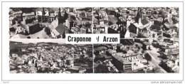 43.- En Avion Au-dessus De CRAPONNE -sur-ARZON. Centre Dentellier, Côté Ouest Et Sud-est, Clinique Et Quartier De La - Craponne Sur Arzon