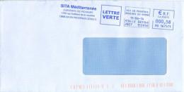 EMA HU 167571 Aix En Provence Bouches Du Rhône 13 + Flamme Sita Méditerranée - Marcofilie (Brieven)