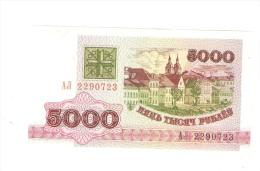 BELARUS 5000 ROUBLES 1992 BANKNOTE