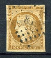 26001) FRANKREICH # 1 Gestempelt Aus 1849, 400.- € - 1849-1850 Ceres