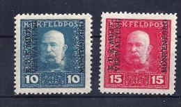 F.P. f. Montenegro Mi. Nr. 1 und 2 ungebraucht
