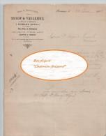 Document  Du 22/01/1904 THIOT VEILLEUX Vins, Absinthe - Romans - 38 Isère - 1900 – 1949