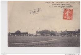 Au Plus Rapide Circuit De L´Est Aviation Août 1910 Paris Troyes Champ D´Aviation Pont Hubert - Meetings