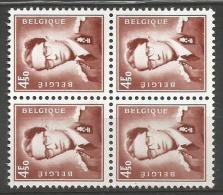 1651a X 2 (bloc 4)  **  8 - 1953-1972 Lunettes