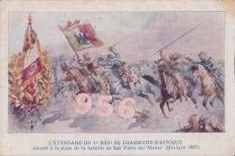 CPA * * L'Etendard Du 1er Regiment De Chasseurs D'Afrique * * - Autres