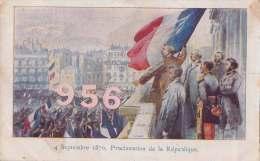 CPA * * 4 Septembre 1870, Proclamation De La République * * - Militaria