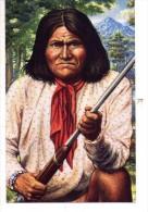 Legends Of The West-Indiens D´Amérique-Geronimo-USA- Entier Postal - American Indians