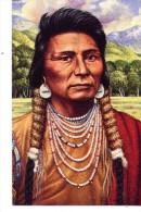Legends Of The West-Indiens D´Amérique-Chief Joseph-USA- Entier Postal - American Indians