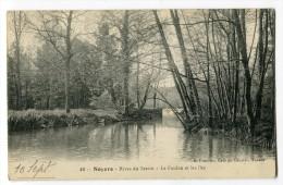 Ref 194 - NOYERS - Rives Du Serein - Le Foulon Et Les îles (1922) - Noyers Sur Serein