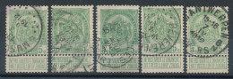 Belgique  N°83 (X5) - 1893-1907 Armoiries