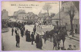 39 - DOLE -- Cavalcade Du 17 Mars 1912 - Char De L'Industrie - Dole
