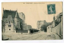 Ref 194 - PARIS XVI - PARIS-PASSY - Boulevard Emile Augier (1912) - Arrondissement: 16