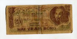 200 DONG BILLET DE GUERRE TB 12 EUROS - Vietnam