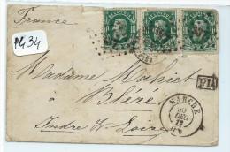 LETTRE DE MARCHE  POUR LA FRANCE  A VOIR - Postmark Collection