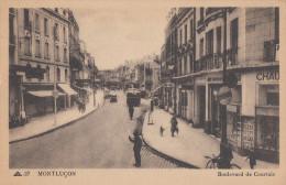 CPA - Montluçon - Boulevard De Courtais - Montlucon